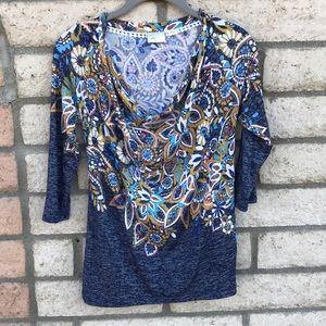 Anthropologie postmark blouse